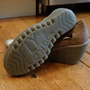 Fly London high heel sandals